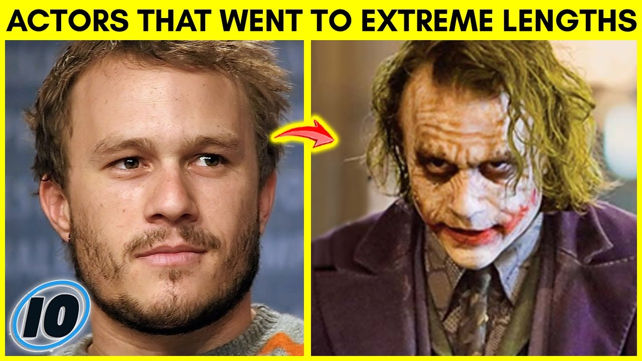 Top 10 Actors Who Went To Extreme Lengths For Movie Roles