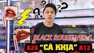 [REVIEW + REACTION] BLACKROUGE VERSION 5 | A26 có THẬT SỰ ĐÁNG MUA hay không? | BICI COSMETIC