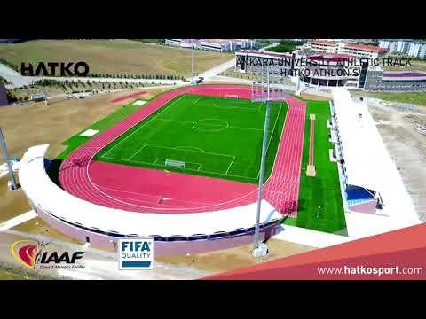 Ankara University Athletic Track IAAF Class 2 Certified Facility