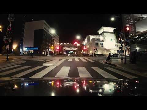 GoPro Hero 6 Black: Low Light Test Driving in Los Angeles