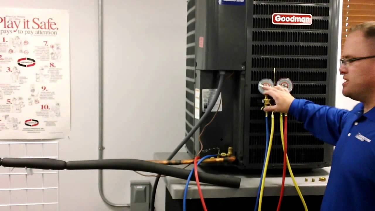 Pumping Down An Hvac System Made Easy