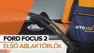 Fedezze fel hogyan oldhatja meg a problémát az hátsó és első Ablaktörlő FORD: video útmutató