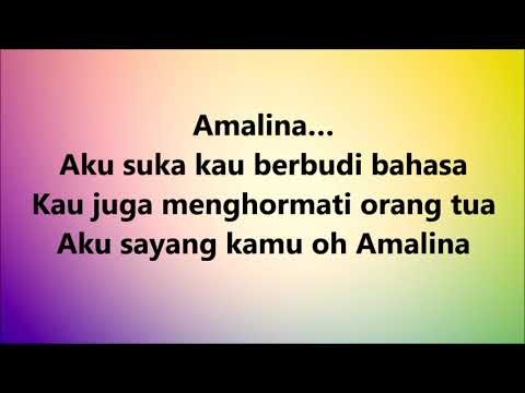 Santesh - Amalina Lyrics Video