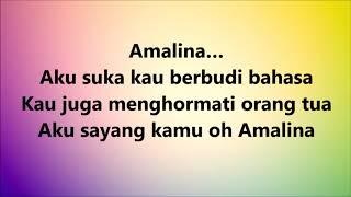 Download lagu Santesh Amalina Lyrics MP3