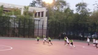 北區學界足球賽丙组-聖芳濟各對迦密柏雨 下半埸 2:1
