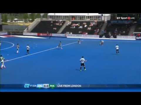 Argentina vs Pakistan hero hockey