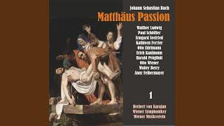 """Matthäus Passion, BWV 244: """"Und da sie den Lobgesang gesprochen hatten"""""""