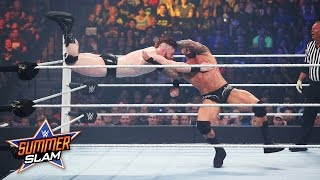 WWE Network: Randy Orton vs. Sheamus: SummerSlam 2015