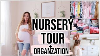 NURSERY TOUR & ORGANIZATION FOR OUR BABYGIRL