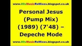 Personal Jesus (Pump Mix) - Depeche Mode | Francois Kevorkian | 80s Dance Music | 80s Club Mixes