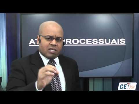 Atos Processuais - Direito Processual do Trabalho - Profº Roberto Conceição