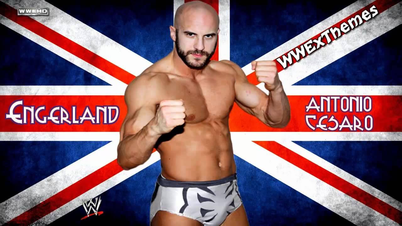 "2012: Antonio Cesaro 1st WWE Theme: ""Engerland (Fabio The"