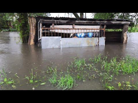 В поселке под Тулой затопило более 50 домовладений