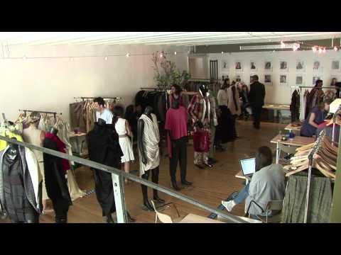 Showroom MC21 organisé par la Maison Méditerranéenne des Métiers de la Mode