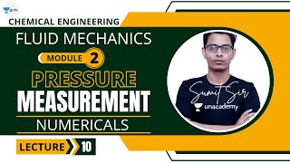 L 10 | Numericals on Manometer | Fluid Mechanics #GATE2022 #PSU by Sumit Sir