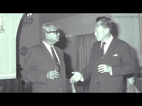 Mr Lee Kuan Yew's reading of the Proclamation of Independence