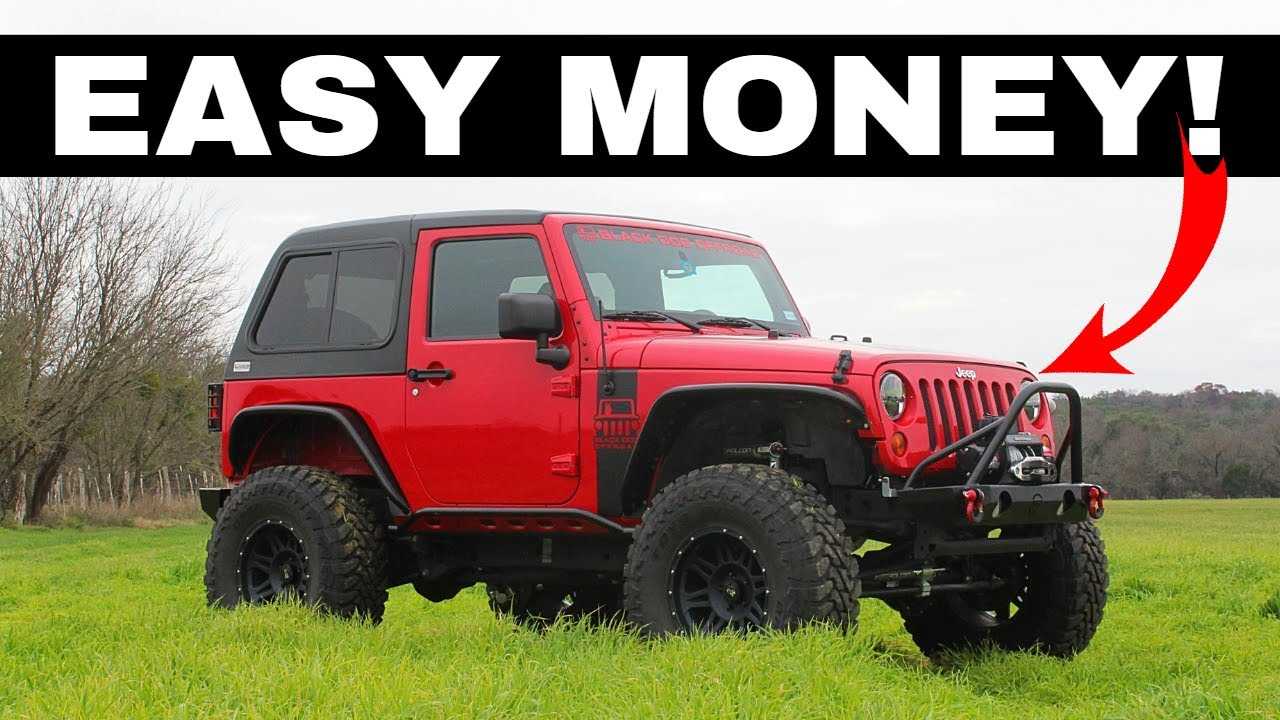 We Buy And Build The Cheapest Jeep Wrangler In The Nation