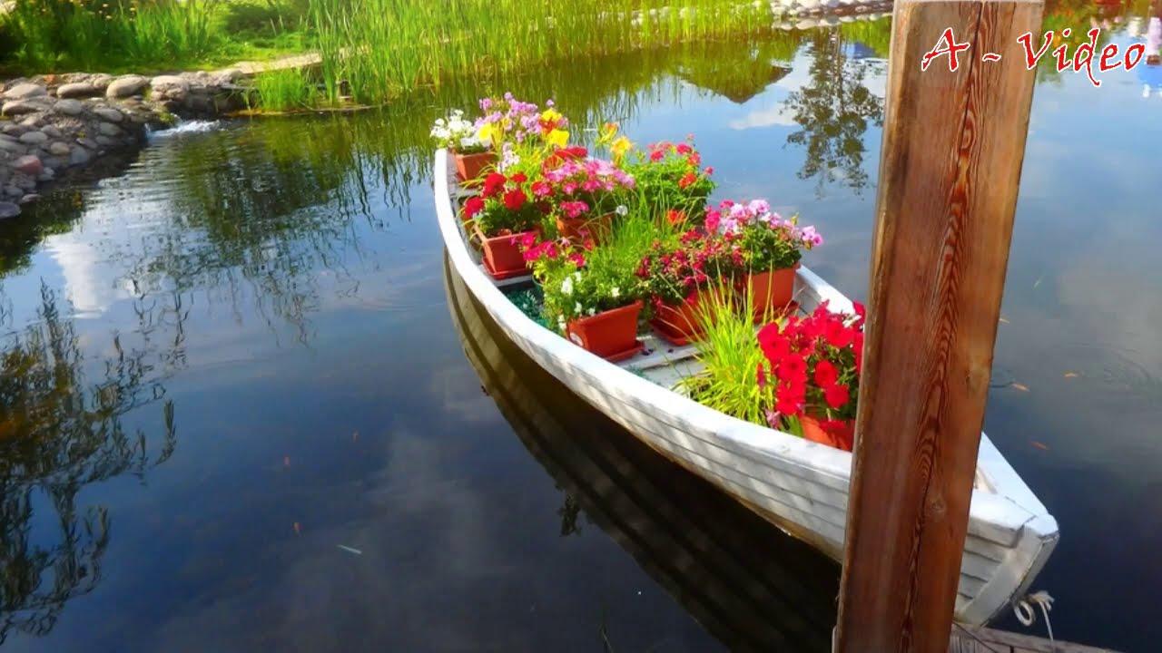 68 Лучших идей для благоустройства приусадебного участка / Great ideas for the garden / A - Video