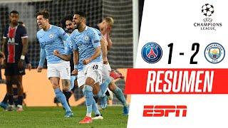 ¡EL EQUIPO DE GUARDIOLA PISÓ FUERTE EN PARÍS! | PSG 1-2 Manchester City | RESUMEN