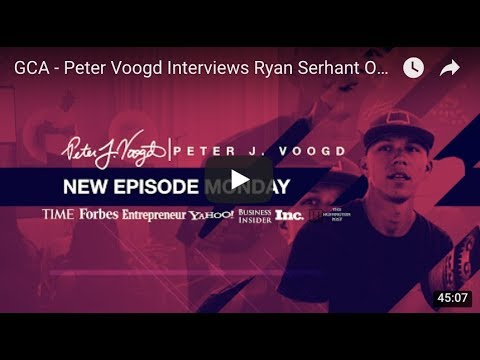GCA - Peter Voogd Interviews Ryan Serhant On Creating A Billion Dollar Real Estate Company & Brand