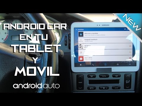 ANDROID AUTO - CAR - TABLET - MOVIL - SIN GASTAR DINERO - AUTOMATE EMULA ANDROID AUTO