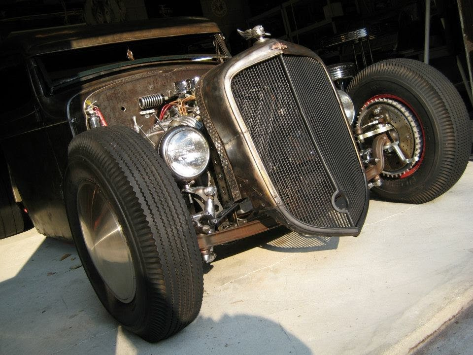 Crazy 1935 Gmc Rat Rod Pickup Truck