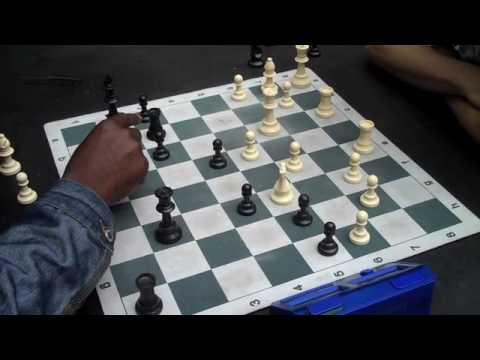 blitz chess in washington square park silverfuturist style