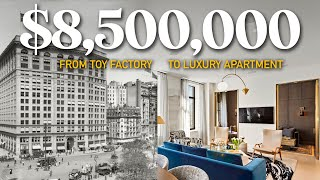 Touring an $8.5 Million Condo Converted from a TOY FACTORY