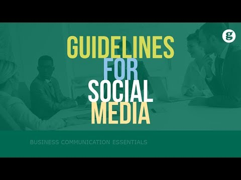 Guidelines for Social Media