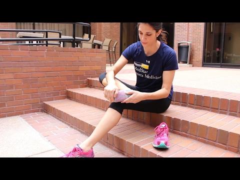 Sweaty milf feet after running