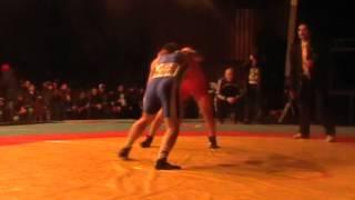 Вольная борьба: финал до 74 кг. И.Иннокентьев - Б.Базаров