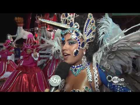 Os Protegidos da Princesa e GRES. Consulado - Carnaval Florianópolis 2018