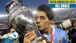 Copa America 2011 in Argentina. All Goals HD.
