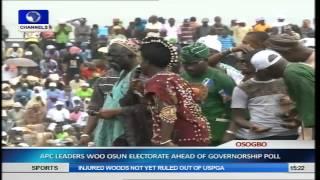 Osun Guber Election: APC Holds Mega Rally Pt.6