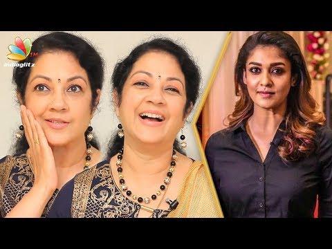 Nayanthara is my favourite! : Shanthi Krishna Interview   80s Actress   Panneer Pushpangal Actress