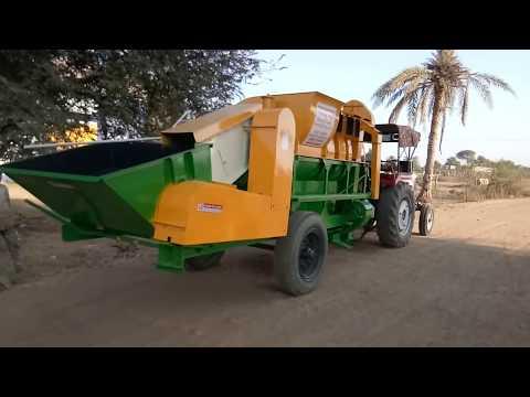 Auto feeding multi crop cutter thresher