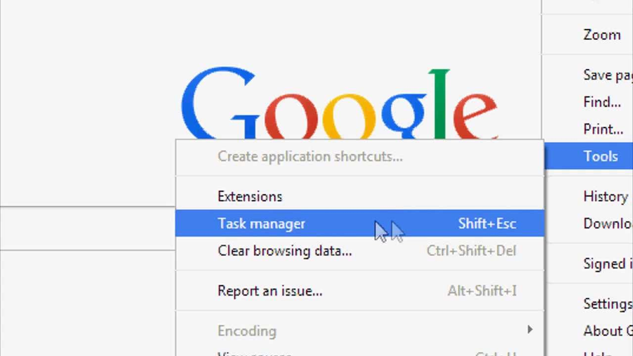 How to open task manager on google chrome youtube how to open task manager on google chrome ccuart Gallery