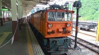 (車窓)黒部峡谷鉄道トロッコ列車 宇奈月→欅平