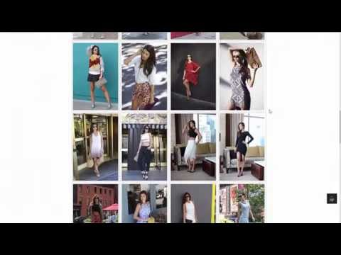 Your very own fashion blog website | Custom web design for fashion bloggers