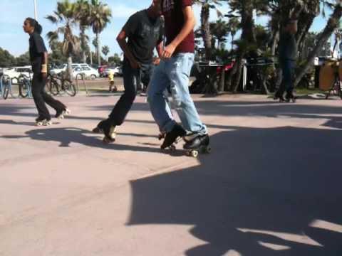 Roller Skating - Crazy Legs - Mission Beach, San Diego, CA_010