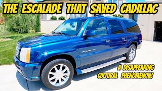 homepage tile video photo for The early Cadillac Escalade is a pop-culture icon, and I bought the best example ever.