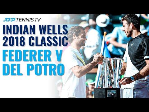 Extended Highlights: Federer Vs Del Potro | Indian Wells 2018 Final