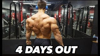 Bodybuilding motivation - regan grimes 4 days out