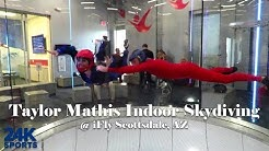 iFly Scottsdale Arizona Indoor Skydiving Taylor Mathis 24K Sports