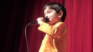 Rishi singing' Manathe velli'