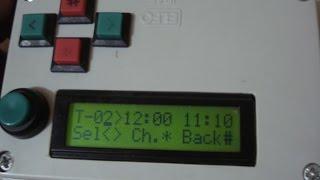 100 программный Таймер на микроконтроллере atmega8 с LCD дисплеем