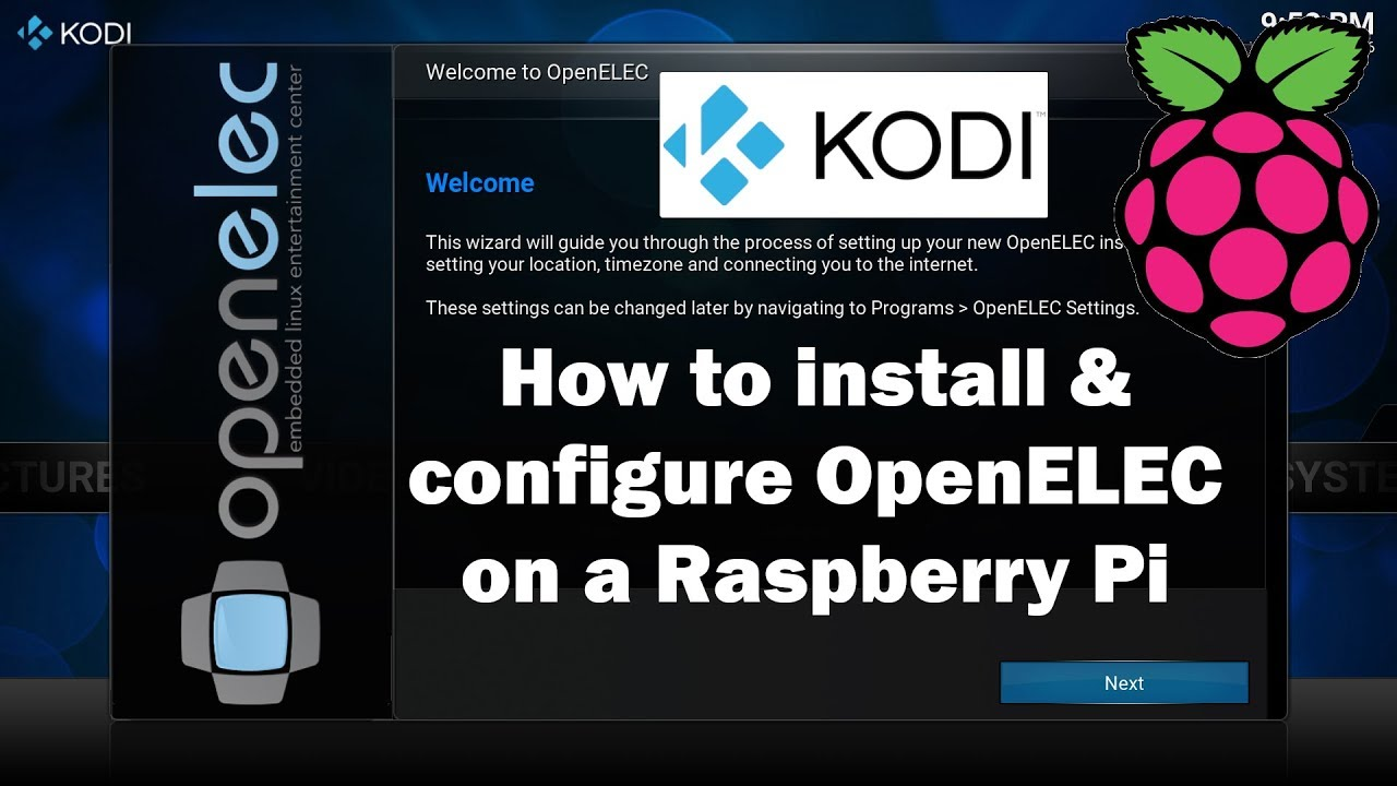 How to install OpenELEC Kodi on a Raspberry Pi