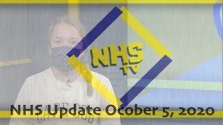 NHS Update October 5, 2020
