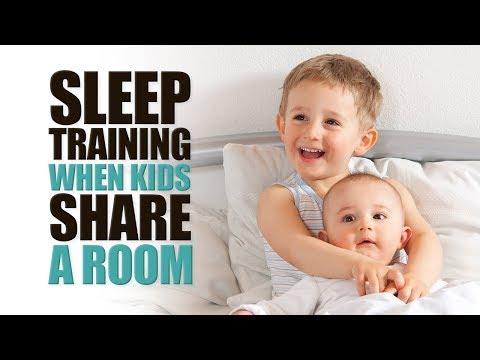 Sleep Training When Kids Share a Room