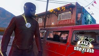 GTA 5 PC - The Flash Most Wanted ! Trevor and Joker Clowns ! (Ultimate Flash Mod)